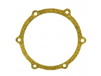 Joint washer fixing oil retainer cap to cylinder block