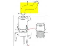 Hose cleaner - carburettor - 4 cyl. petrol