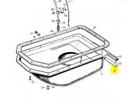 Packing strip rear sump
