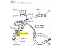 Joint métallique de maître cylindre