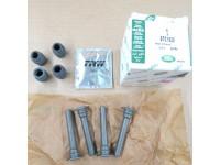Brake caliper sliding pin kit - front