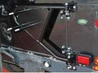 Spare wheel carrier - Series & Defender