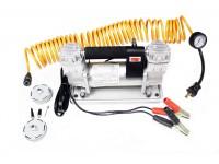 Air compressor portable double pump