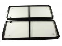 Sliding window kit 106x42.8cm - pair