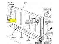 Double spring washer for tailgate hinge