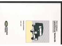 Parts Catalogue Land Rover