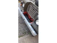 Front bumper galvanized