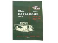 Parts Catalogue Series I 1954-1958