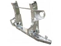 Rear cross member Def90 TD5 - 90cm extensions - galvanised