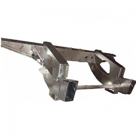 Rear cross member Def110 TD5 - 75cm extensions - galvanised