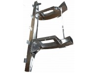 Quarter chassis Def110 - up to 1998 - galvanised
