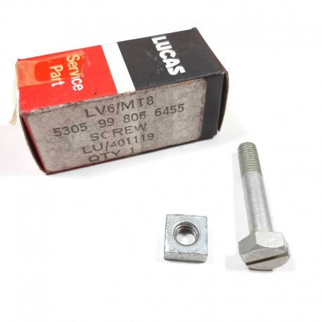 Nut & bolt distributor clamp fixing