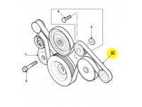 Alternator drive belt TD5 - no airco
