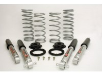 Air to coil conver. kit +5cm with shocks - Disco 2