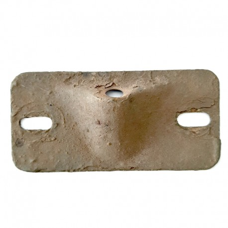 Cover plate for reverse stop - used