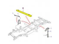 Rear floor crossmember Def130