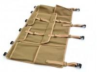 Canvas side storage bag