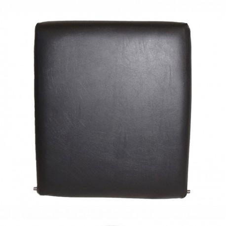 Standard front centre seat back black vinyl