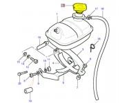 Radiator expansion bottle cap