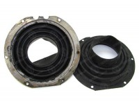 Swivel housing protection rubbers