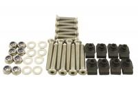 Door front hinge bolt kit
