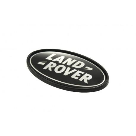 Badge -Rear - Black/Silver - LAND ROVER