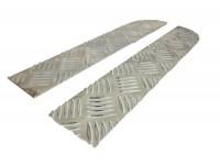 Finitions dessus de pare-choc - aluminium