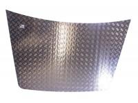 Protection capot alu strié 2mm - Disco 1