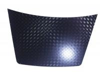 Protection capot alu strié noir 2mm - Disco 1