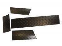 Panneaux de protection bas de carrosserie 2mm noir - Disco 1