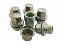 Locking wheel nut - Set of 5 - Alloy wheels
