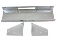 Discreet Winch Plate - Discovery2