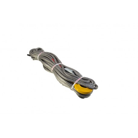 Winch Rope 25m x 11mm - competition hook
