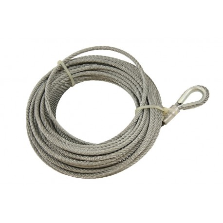 Winch Wire - T-MAX - 28m x 8.2mm
