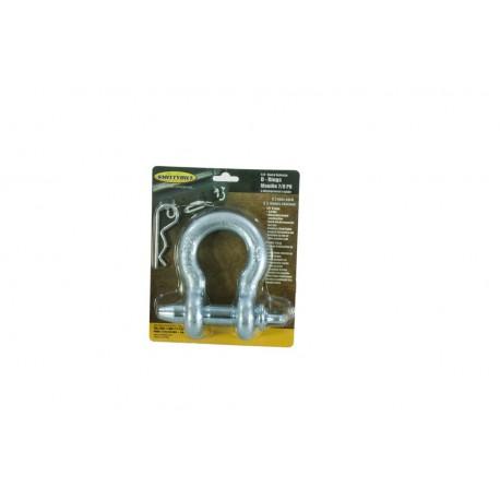 D Ring Quick Release - 6.75 Tonne - Zinc