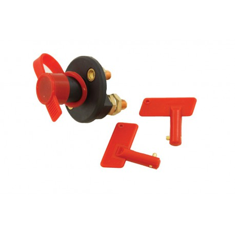 Battery Isolator Switch - T-MAX - Steel terminals