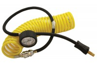 Portable Compressor - Replacement pipe and gauge
