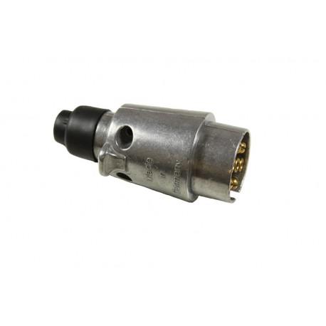 Trailer Plug 12N 7 Pin - Aluminium