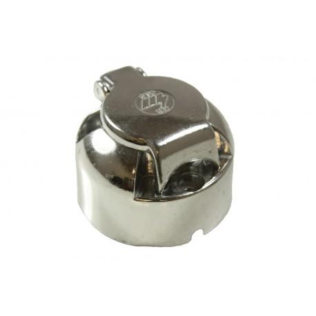 Trailer Socket 12N 7 Pin - Aluminium