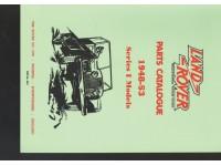 Parts Catalogue Series I 1948-1953