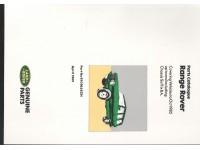 Manuel pièces détachées Range Rover Classic jusque 1985 - En anglais