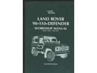"""Manuel d'atelier """"Owners Edition"""" Defender 90"""" et 110"""" 1983-1995"""