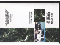 """Manuel d'atelier Defender 90"""" et 110"""" Td5 1996-1998"""