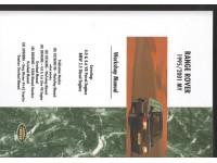 Manuel d'atelier Range Rover P38