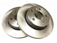 Brake disc vented, for 4 wheel ABS models