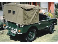 """80"""" full hood rigid perspex windows - curved sticks"""