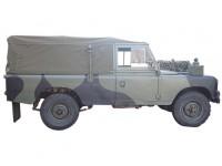 "Bâche complète 109"" - véhicule radio"