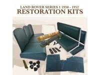 """Kit restauration intérieur 80"""" 1950-52 - vert"""