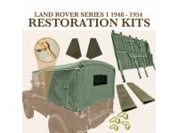 """Kit restauration extérieur Serie 1 80"""" 1948-54"""