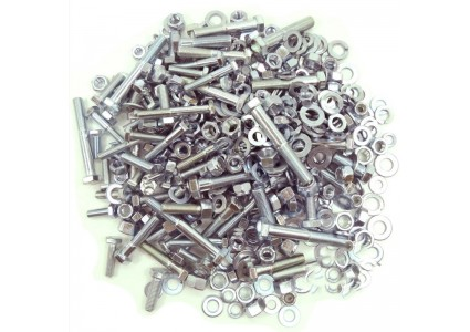 Nuts, bolts, screws & mountings